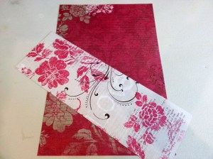 2 sided card stock