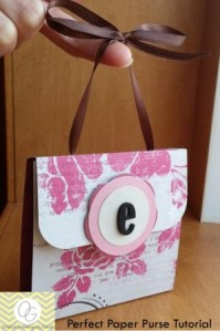 Perfect Paper Purse Tutorial - by Original Greetings by Sarah