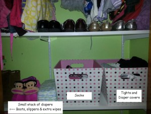 closet middle shelf