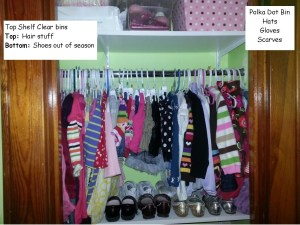 closet top shelf